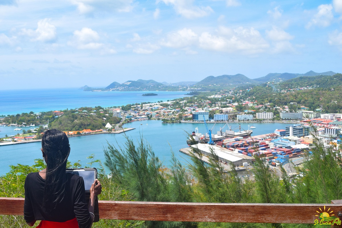 Castries View